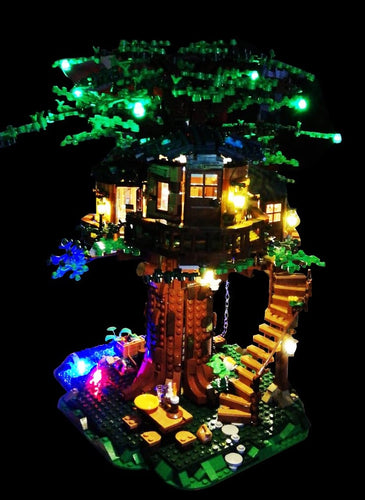 LED Lighting Kit for Lego 21318 Ideas Tree House (Lego Set not Included)