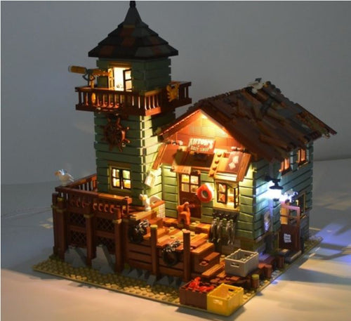 Led Lighting kit for LEGO Ideas Old Fishing Store 21310