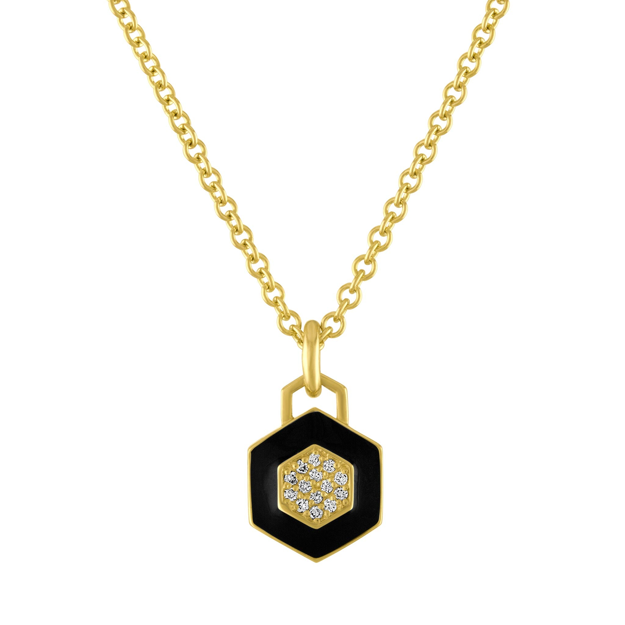 Amy Glaswand Fine Jewelry | Necklaces | Deco Pop Pendant Necklace