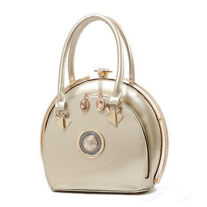 Bright Leather Handbag