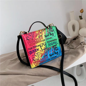Graffiti Shoulder Bag