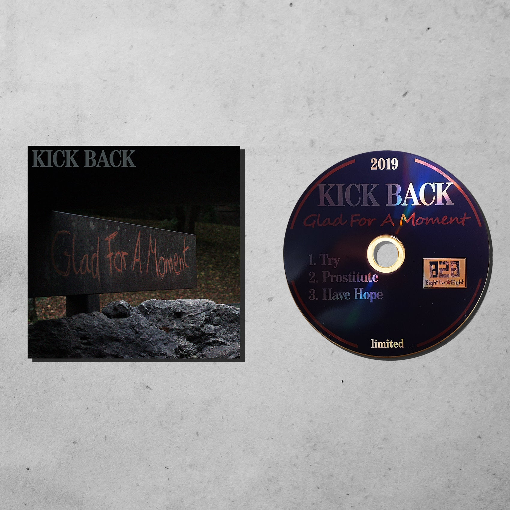 CD: Kick Back - Glad For A Moment