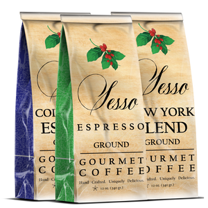 Sesso Espresso Variety Three Pack
