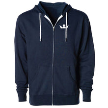 Load image into Gallery viewer, Fighter Zip-Up Hoodie