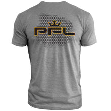 Load image into Gallery viewer, PFL Honeycomb Spray Tee (Grey)