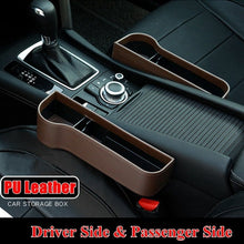 Load image into Gallery viewer, Universal Car Seat Gap Pocket Organizer