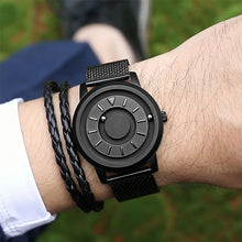 Load image into Gallery viewer, Magnetic ball Watch Unique Designer Quartz Innovate Concepts Luxury Waterproof Man Wrist Watch Best selling 2019 EOEO