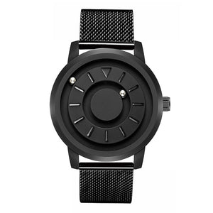 Magnetic ball Watch Unique Designer Quartz Innovate Concepts Luxury Waterproof Man Wrist Watch Best selling 2019 EOEO