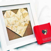 Heart shaped wood puzzle 表白心意木拼圖 - Gift Macau