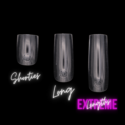 Badass Creative Nails by www.TheGlamSquad.co.uk Nail lengths