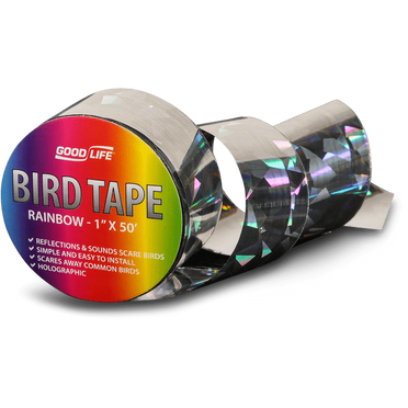 Good Life® Reflective Rainbow Bird-Scare Tape – 1 inch by 50 feet