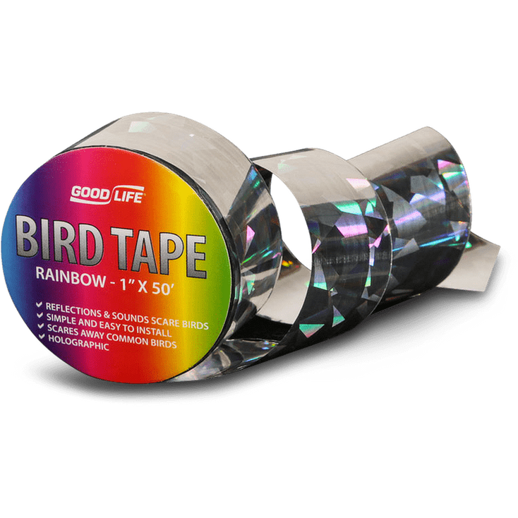 Reflective Bird-Scare Tape Rainbow / 1″×50′
