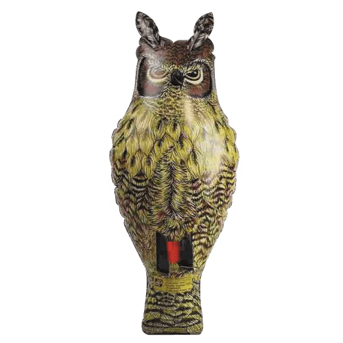 Inflatable Great Horned Owl Scarecrow