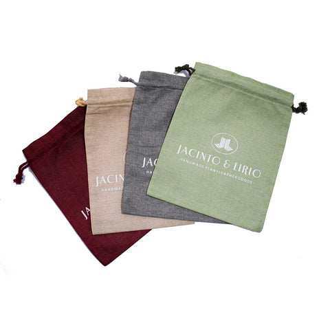 Linen Drawstring Eco-Bag