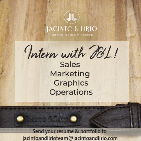 Jacinto & Lirio Year Long Internship Opportunities