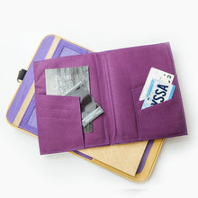 Load image into Gallery viewer, Laró A5 Piko Personalized Traveler's Wallet Planner (Scotch Beige) - Jacinto & Lirio