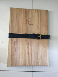 Folder with Ring Bind