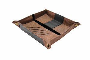 Guhit Valet Tray Pencil Case - Coffee Brown