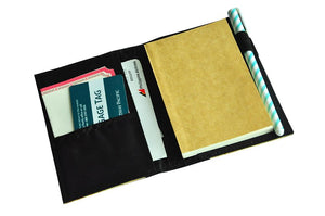 Spes Refillable Vegan Leather Blank Journal and Passport Holder - Jacinto & Lirio