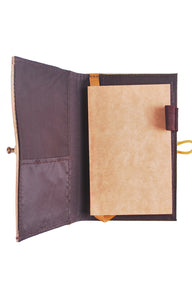 Pinto Mini Personalizable Passport Holder or Refillable Vegan Leather Journal - Jacinto & Lirio