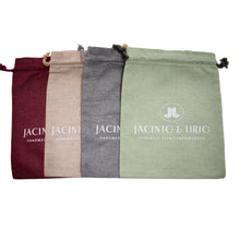 Load image into Gallery viewer, Linen Eco Bag - Jacinto & Lirio