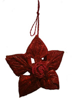 Load image into Gallery viewer, Vegan Leather Christmas Decoration