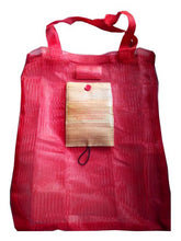 Load image into Gallery viewer, Foldable Eco Bag with Water Hyacinth Accent - Jacinto & Lirio