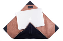 Load image into Gallery viewer, Burda Resizable Laptop Case Wraps or Envelope Clutch (Black) - Jacinto & Lirio