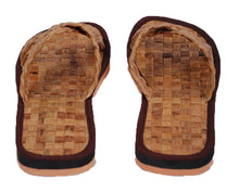 Load image into Gallery viewer, Vegan Leather Hotel Slippers - Jacinto & Lirio