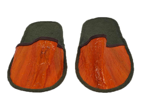 Vegan Leather Hotel Slippers - Jacinto & Lirio