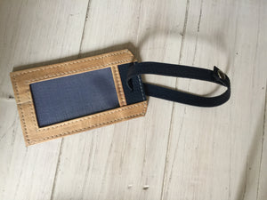 Vegan Leather Luggage Tag - Tomas - Jacinto & Lirio