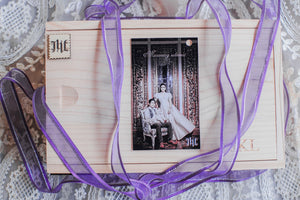 Wedding Souvenir Kakaiba Wooden Box with Wooden Slide Cover