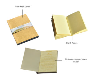 Mini Refill Pocket Size Blank Notebook Journal Inserts - Jacinto & Lirio