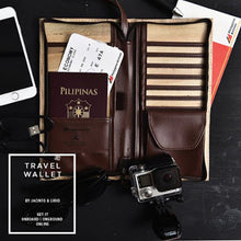 Load image into Gallery viewer, Philippine Airlines Vegan Leather Travel Wallet - Jacinto & Lirio