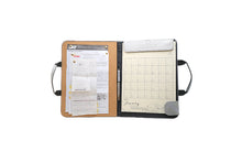 Load image into Gallery viewer, Alamat Vision Board Monthly Vegan Leather Desk Planner (Saging) - Jacinto & Lirio
