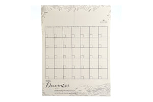 Alamat Vegan Dream Board Desk Monthly Planner (Saging)