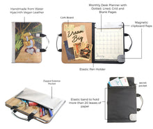 Load image into Gallery viewer, Alamat Vision Board Desk Monthly Planner (Saging)