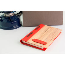 Load image into Gallery viewer, Spes Refillable Vegan Leather Blank Journal and Passport Holder - Jacinto & Lirio