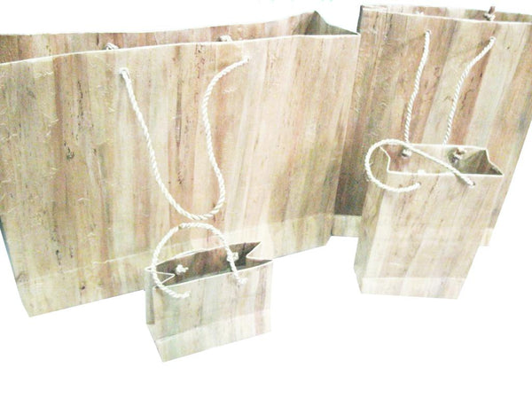 Water Hyacinth Paper Bag - Jacinto & Lirio