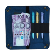 Load image into Gallery viewer, Guhit Valet Tray Pencil Case Wallet (Maong Blue)