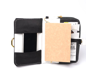 Fauna Mahika Open Dated Vegan Planner (Midnight Black) - Jacinto & Lirio