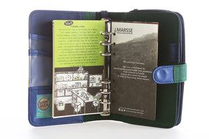 Likhain A6 Ring Binder Dateless Monthly Weekly Planner Wallet Organizer (Maria Makiling) - Jacinto & Lirio