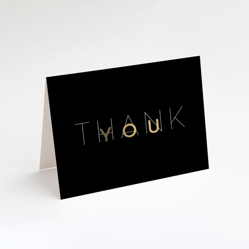 Mod Thank You Cards – Perspective Front View