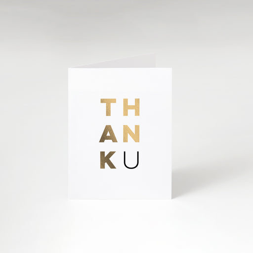 ThankU Cards – Perspective Front View