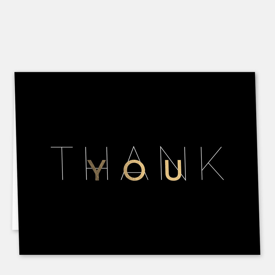 Mod Thank You Cards – Front View