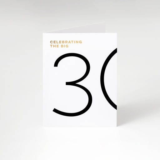 The Big 30 Birthday Card