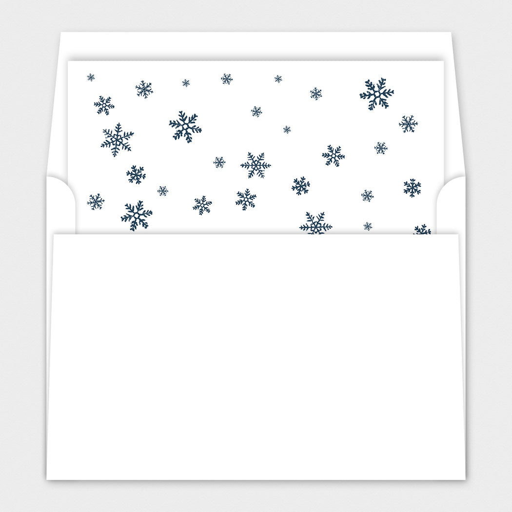 Blueprint Blessings Holiday Cards – Envelope Liners