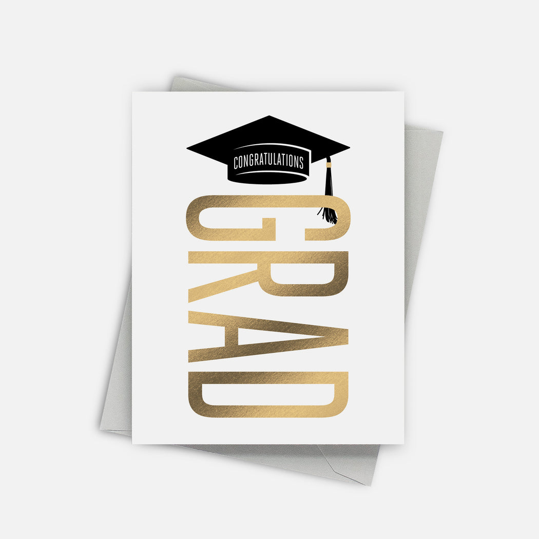 Stacked Graduation Card