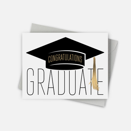 Golden Tassel Graduation Card
