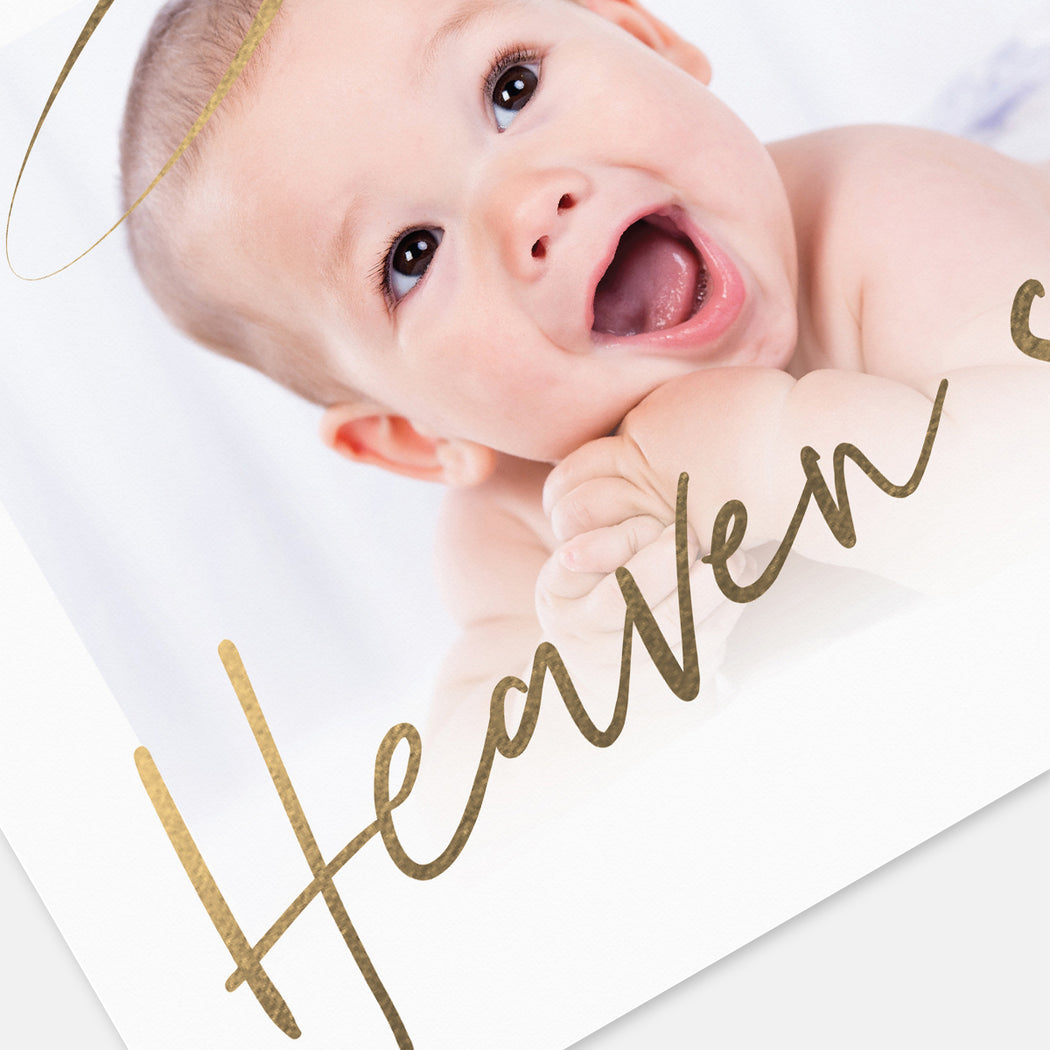 Heaven Sent Birth Announcements – Detail View